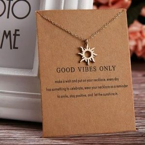 Inspirational Message Necklace